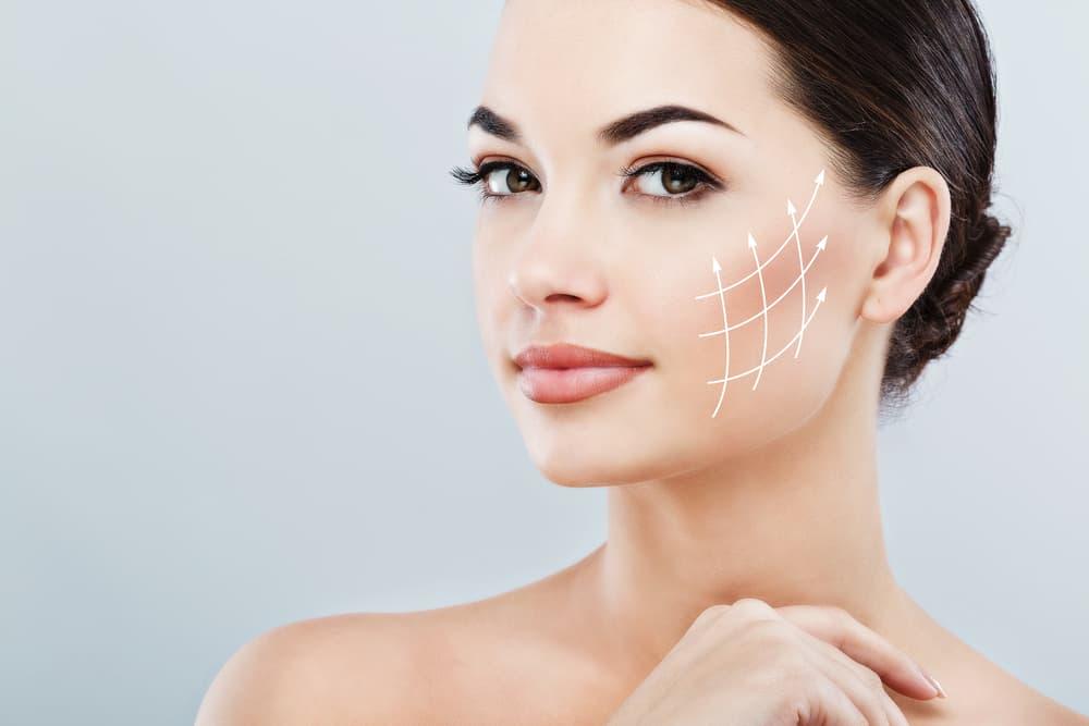 شد الوجه بالخيوط طريقة فعالة وتكلفة رائعة لاستعادة الشباب - تركي ويز