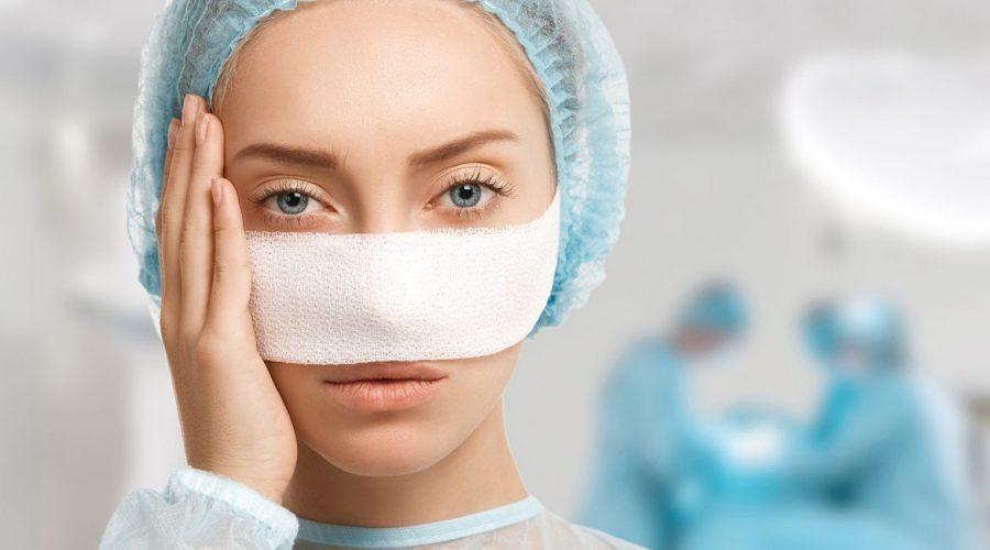 التورم بعد عملية تجميل الانف