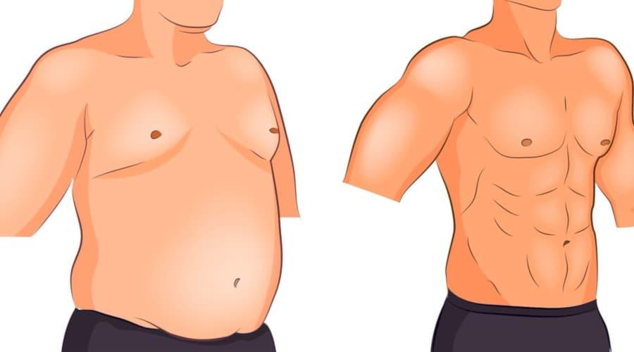 رسم توضيحي لنتائج عملية نحت الجسم