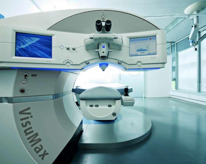 جهاز فيجوماكس المستخدم في إجراء عملية الفيمتو سمايل