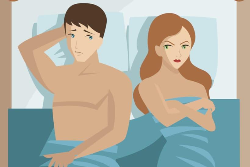 ضعف الانتصاب من أسبابه مشاكل في العلاقة بين الزوجين