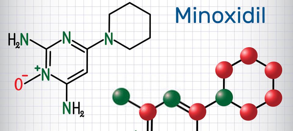 تركيبة مينوكسيديل الكيميائية